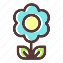 bloom, blossom, flower, flowering, flowers, plant icon