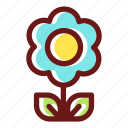 bloom, blossom, floral, flower, flowering, plant icon