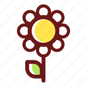 bloom, blossom, floral, flower, flowering, flowers, plant icon