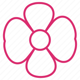 abstract, bloom, floral, flower, flowers, nature, orchid icon