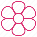 abstract, bloom, daisy, floral, flower, flowers, plant icon