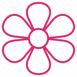 abstract, bloom, floral, flower, flowers, garden, plant icon