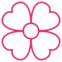 bloom, decoration, floral, flower, flower lucky, flowers, orchid icon