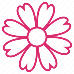 bloom, clover, daisy, ecology, floral, flower, flowers icon