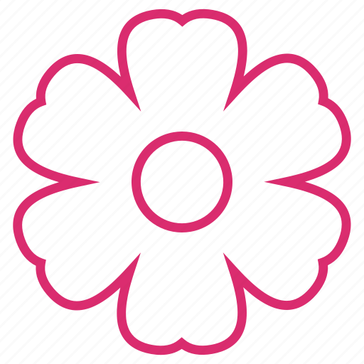 abstract, bloom, clover, floral, flower, flower lucky, spring icon