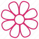 abstract, bloom, daisy, floral, flower, flowers, nature icon