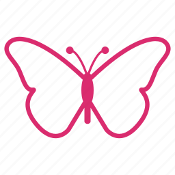 butterfly, eco, flower, garden, nature, plant, spring icon