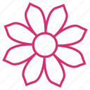 abstract, bloom, ecology, floral, flower, garden, nature icon