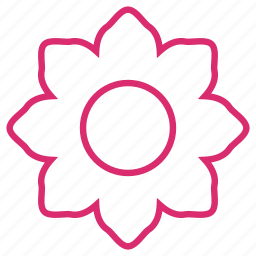 bloom, ecology, floral, flower, garden, nature, orchid icon