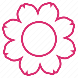 abstract, bloom, eco, floral, flower, flowers, nature icon