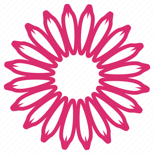 abstract, bloom, daisy, floral, flower, flowers, sunflower icon
