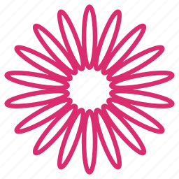 abstract, bloom, daisy, floral, flower, garden, sunflower icon