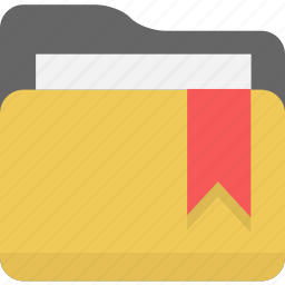 bookmark, favorite, favorites, folder icon