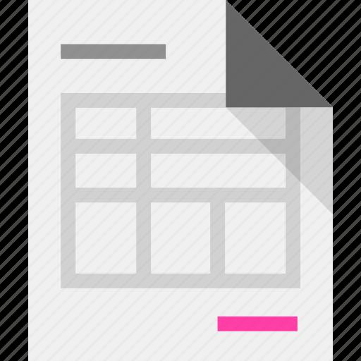 invoice, receipt icon