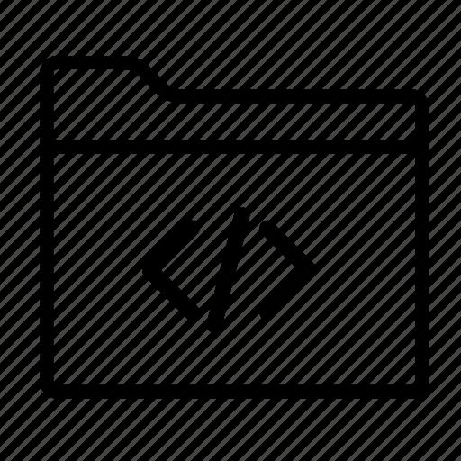 code folder, folder, folders icon