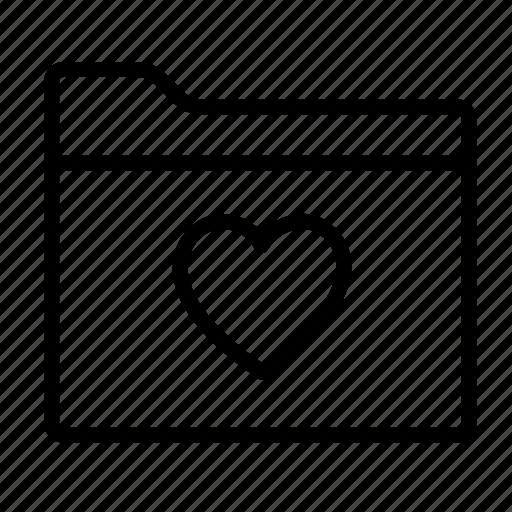 bookmark, favorite, favourite folder, folder, folders, like, love icon