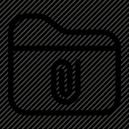 attachment, file, files, folder, storage icon