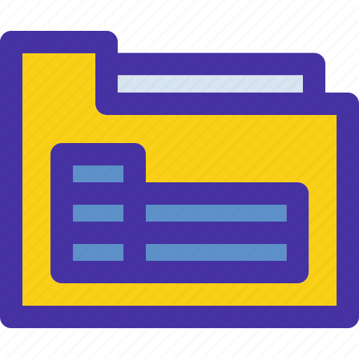 archive, document, excel, folder, sheets icon
