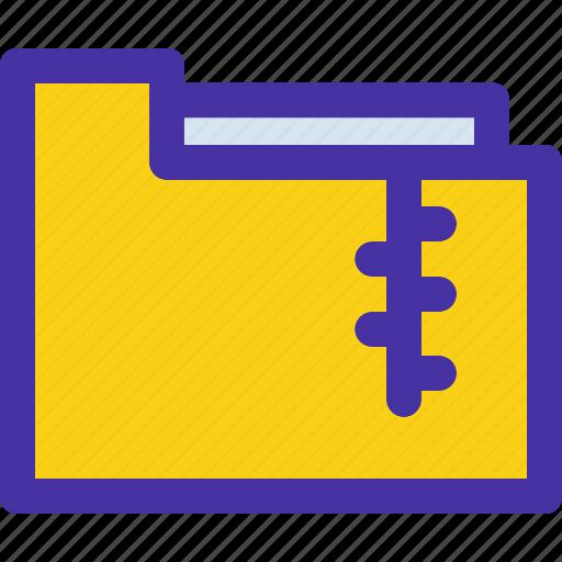 archive, compress, compressed, folder, holder, zip icon