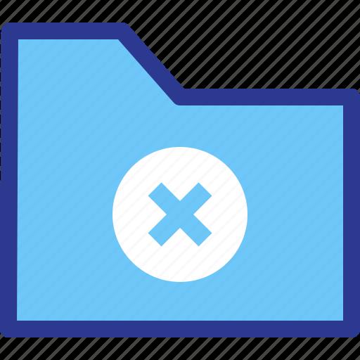 archive, delete, error, file, folder, remove icon