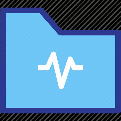 archive, file, folder, health, statistic icon