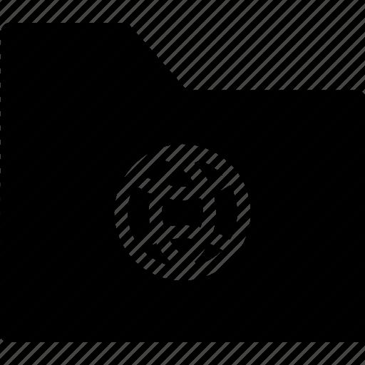 archive, file, folder, globe, web, website icon