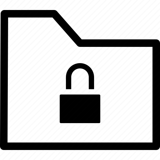archive, file, folder, lock, secure icon