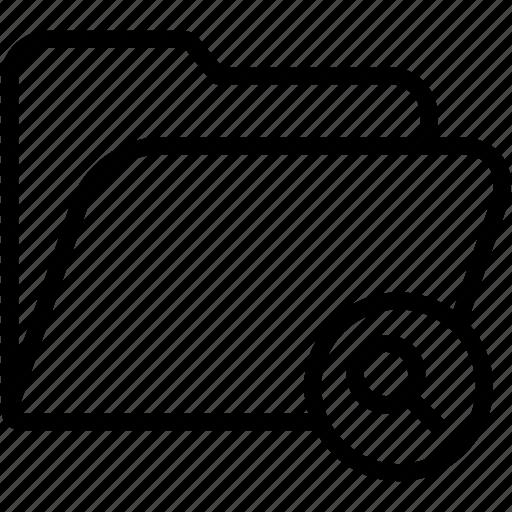 data, document, file, find, folder, glass, storage icon