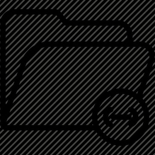 data, document, file, folder, link, storage icon