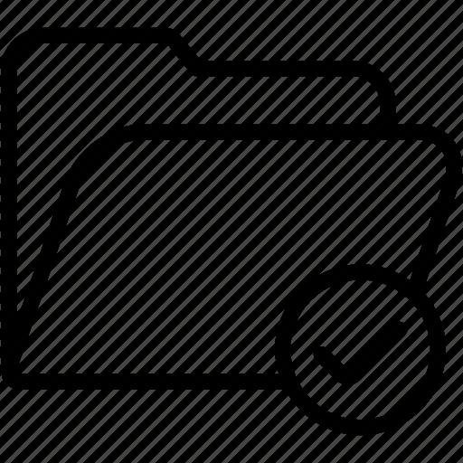 check, data, document, file, folder, storage icon