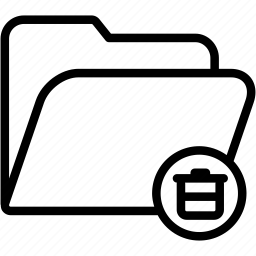 data, document, file, folder, garbage, storage, trash icon