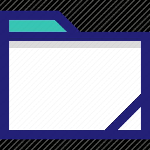 archive, clean, file, folder icon