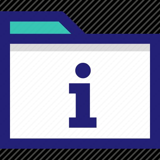 arhive, file, folder, information, letter, more icon