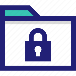file, folder, lock, safe, secured icon