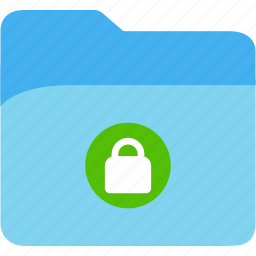 data, disk, explorer, file, folder, lock, storage icon