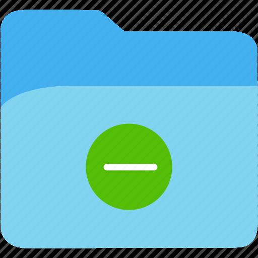 data, disk, explorer, file, folder, minus, storage icon