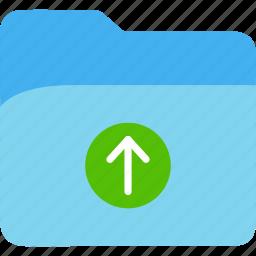 data, disk, explorer, file, folder, storage, upload icon