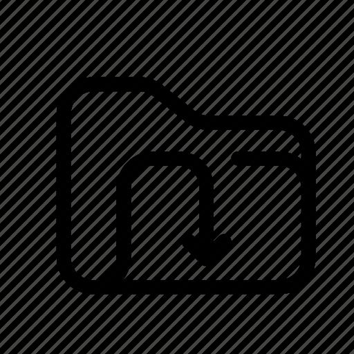 catalog, directory, document case, download, download folder, folder, index, jacket, portfolio, roll, schedule, sked, warning icon