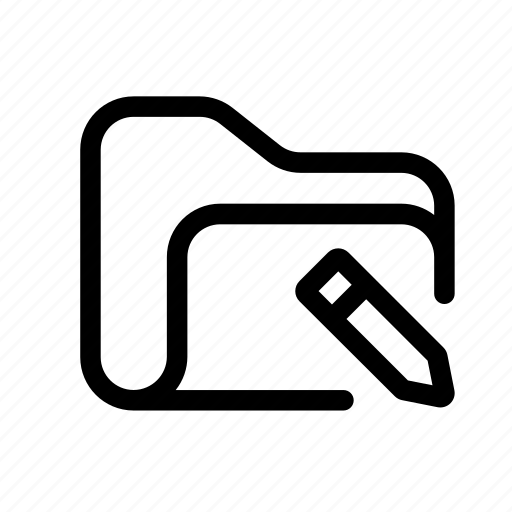 catalog, directory, document case, edit, edit folder, folder, index, jacket, pencil folder, portfolio, roll, schedule, sked, warning icon