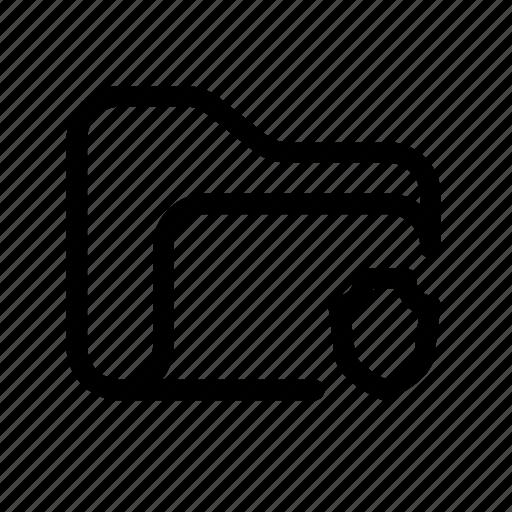 catalog, directory, document case, folder, index, jacket, portfolio, roll, safety, safety folder, save folder, schedule, secure, secure folder, shield, shield folder, sked, warning icon