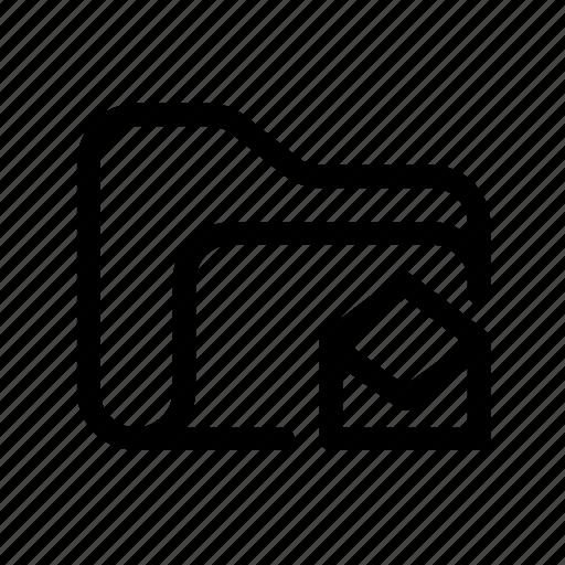 catalog, directory, document case, folder, inbox, inbox fodler, index, jacket, message, message folder, open, open folder, opened folder, portfolio, roll, schedule, sked, warning icon