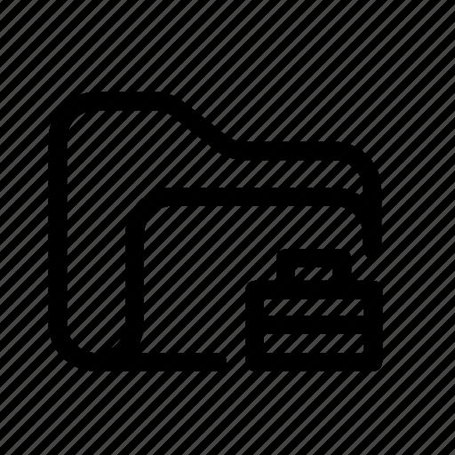 case folder, catalog, directory, document case, folder, index, jacket, portfolio, portfolio folder, roll, schedule, sked, warning icon