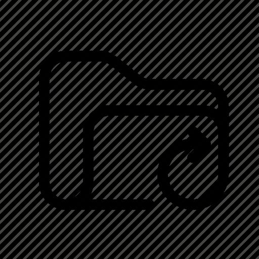 arrow, catalog, directory, document case, folder, index, jacket, portfolio, refresh, refresh folder, roll, schedule, sked, update, update folder, warning icon