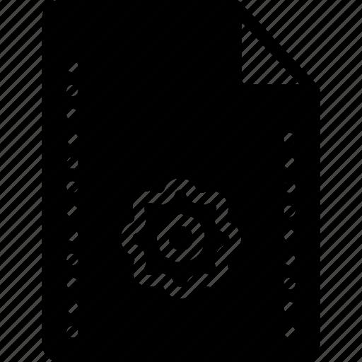 config, file, files, folders, settings icon