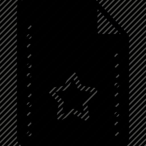 favourite, file, files, folders, solid, star icon