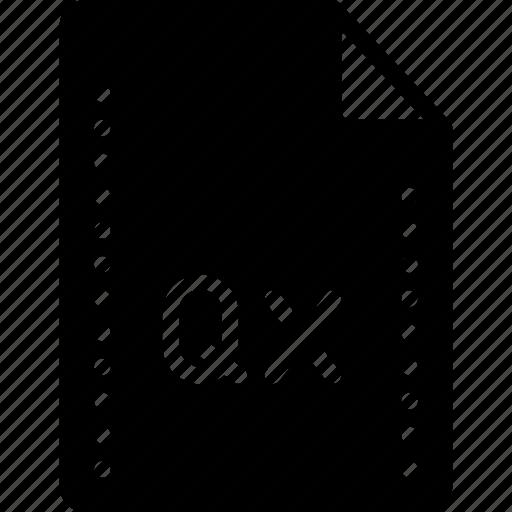 extension, file, files, folders, quark, solid, xpress icon