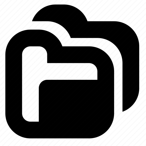 duplicate, folders icon