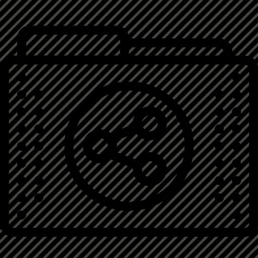Files, folder, folders, shared, social icon - Download on Iconfinder