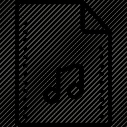 audio, file, files, folders, mp3, music, wave icon