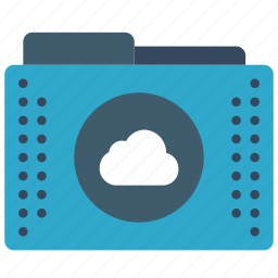 cloud, files, folder, folders, remote icon